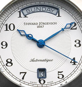 Swiss Stovard Jurgenson watch!Swiss ETA movement!Best price