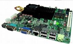ATOM D525遊戲機主板6COM