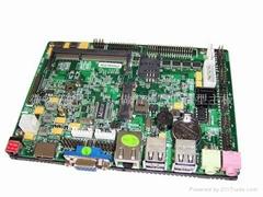 3.5寸ATOM D525無風扇工控主板