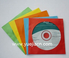 COLOR PAPER CD SLEEVE