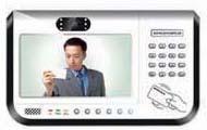 可视彩屏摄像考勤机