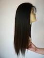human hair silk top wig 5