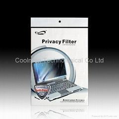Privacy screen protector / privacy screen filter