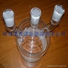 供应石英玻璃三口瓶