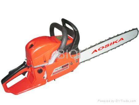Gasoline chain saw garden tools 5200 aosika china for Garden tools and implements