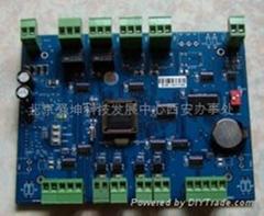 RS485通讯双门控制器(双门单进)