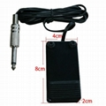 Mini metal tattpp foot pedal with phone jack