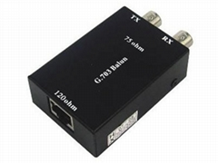 G.703 Balun Lan/BNC/Ethernet Adapter Converter