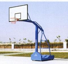 方管移動籃球架