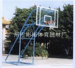 炮式移动透明篮球架