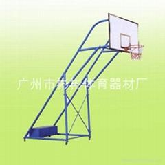 炮式移动篮球架
