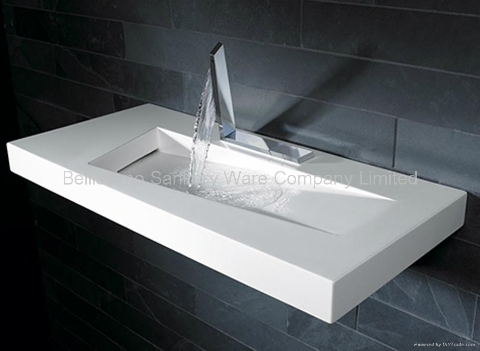 New design stone basin BS-8402