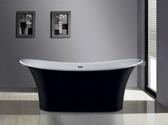 Long bath,Stone Bathtub BS-8627