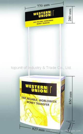 promotion table banner stand 1