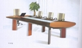 office wooden meeting desk  1