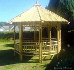 bamboo gazebo ,pavilion,