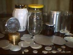 玻璃瓶口-專用密封電磁感應封口片