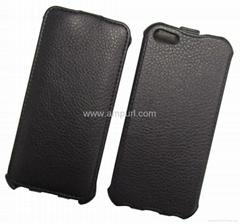 iphone 5G-E01真皮棕色保護套|皮套|熱定型皮套