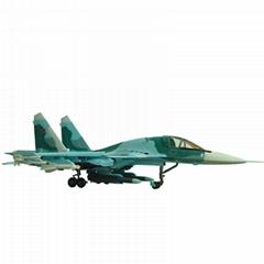 甦34艦載飛機模型