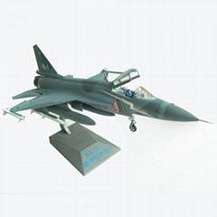 金屬仿真梟龍/FC-1飛機模型