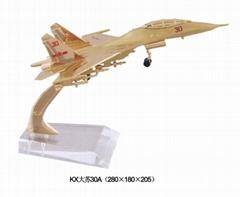 金屬甦30飛機模型
