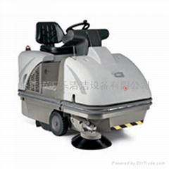 餐具生产车间专用驾驶式全自动扫地车
