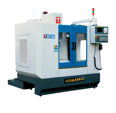 CNC vertical milling machine 2