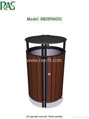 Recycle Plastic Litter Bin