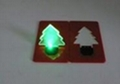Portable Pocket LED Card Christmas Tree Light