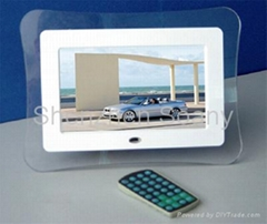 7 inch multi function digital photo frame
