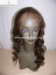 full lace wigs (100% china remy hair )
