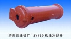 供應濟南柴油機廠12V190機油冷卻器