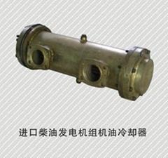 供應進口柴油發電機組機油冷卻器