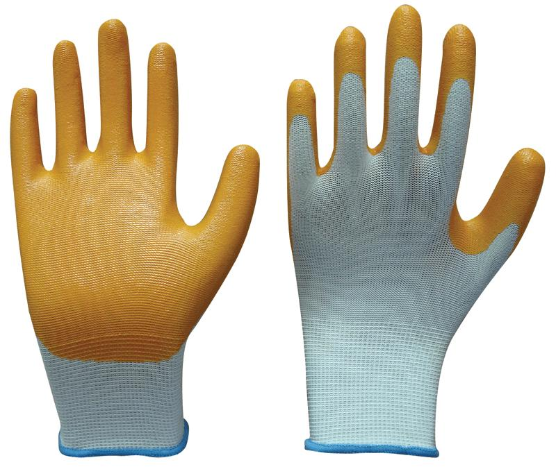 nitrile coated gloves - 1501