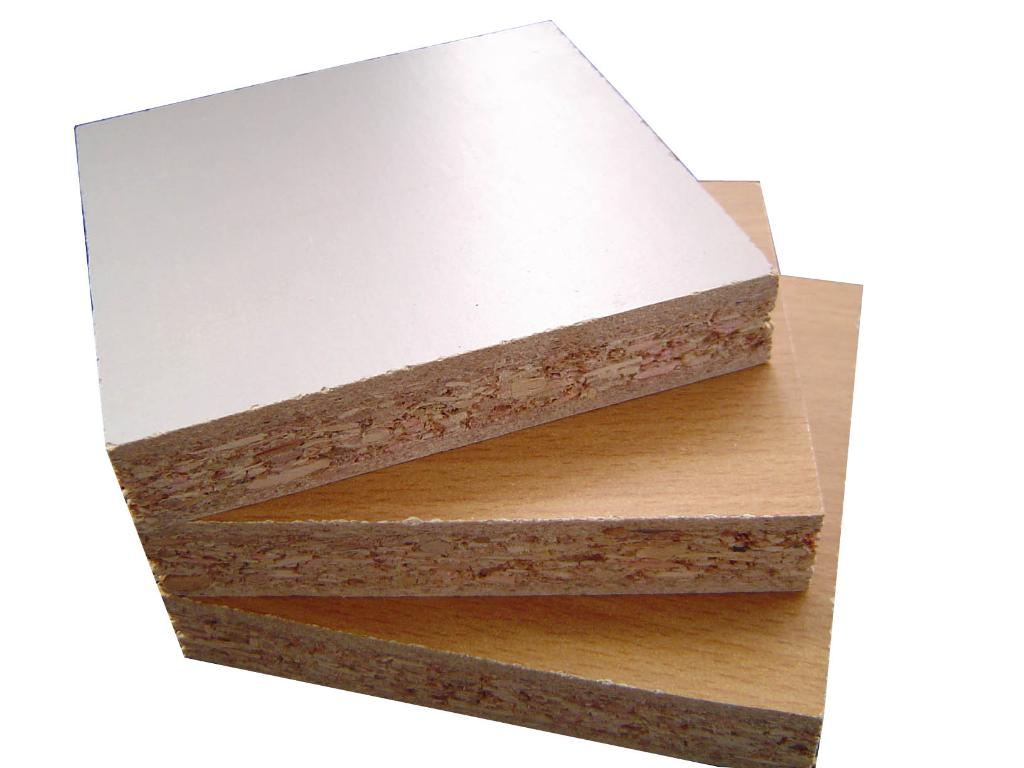 Particle board 014 ha china manufacturer timber for Particle board laminate finish