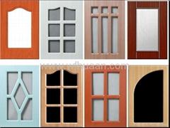 pvc glass cabinet door