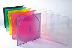 PS 5.2mm 超薄單碟彩底CD盒
