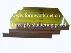 three ply shuttering panel