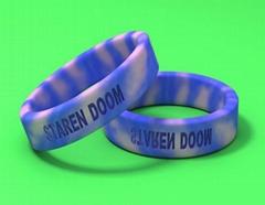 奧運手環,段色手環,混色手環,