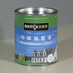 EXMIX宜美思木蜡油花园别墅油