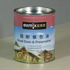 EXMIX宜美思木蜡油超耐候色油