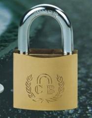 heavy duty brass padlock