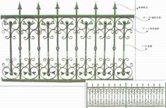 铁艺护栏,围栏