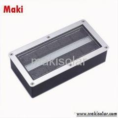 Solar-Powered LED Brick