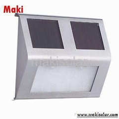 Solar-Powered Step Light