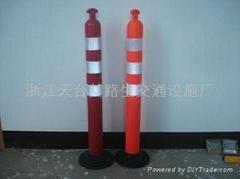 橡胶警示柱PU警示柱防撞柱