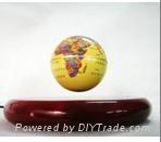 electro magnetic levitation and rotation globe
