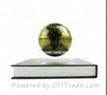 electro magnetic levitation and rotation globe 4