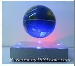 floating globe