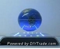 electro magnetic levitation and rotation wine base with LED 4